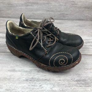 El naturalista lace up sneaker clog